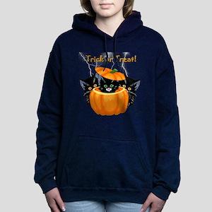 Halloween Trick or Treat Women's Hooded Sweatshirt