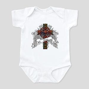 Ross Tartan Cross Infant Bodysuit