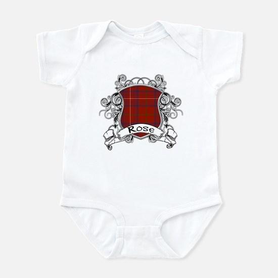 Rose Tartan Shield Infant Bodysuit