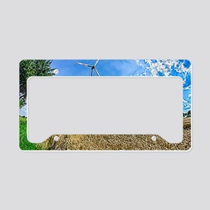 Clean Energy License Plate Holder