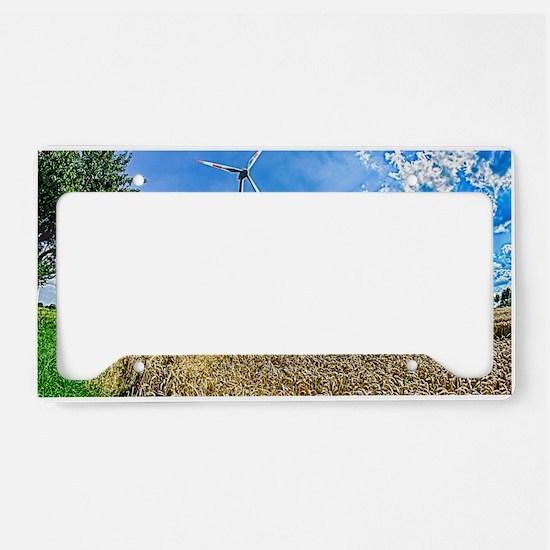 Clean Energy License Plate Holder