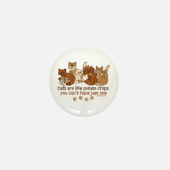 Unique Cat lovers Mini Button