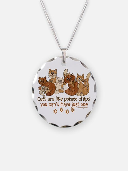 Cute Crazy cat Necklace