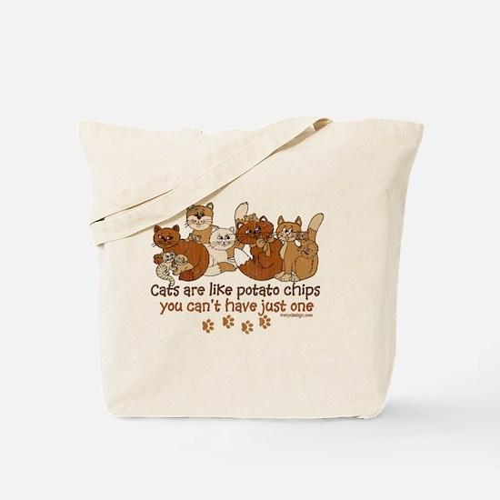 Cute Crazy cat lady Tote Bag