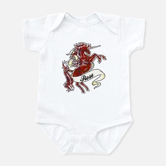 Rose Unicorn Infant Bodysuit