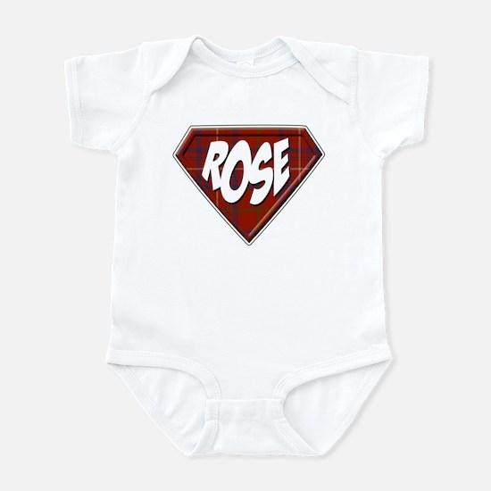 Rose Superhero Infant Bodysuit