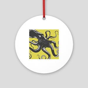 Octopus Ornament (Round)