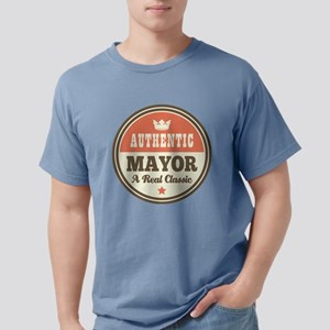 Mayor Funny Vintage T-Shirt