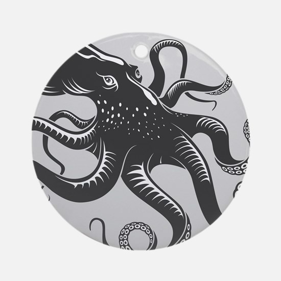 Octopus Ornament (Round)