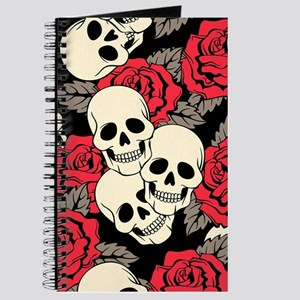 Flowers and Skulls Journal