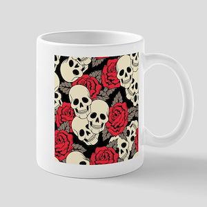 Flowers and Skulls Mugs