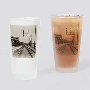 Train Depot  Drinking Glass