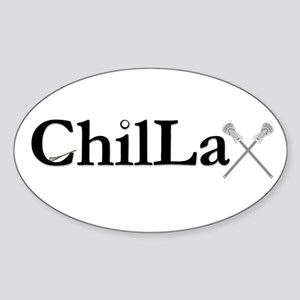 ChilLax Sticker (Oval)