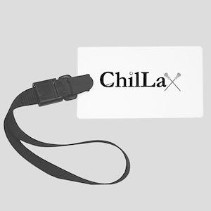 ChilLax Large Luggage Tag