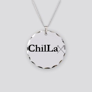 ChilLax Necklace Circle Charm