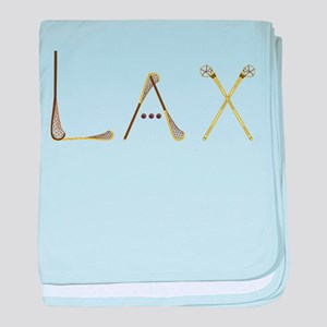 Lax Traditional baby blanket