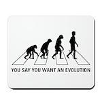 Evolution Road Mousepad