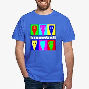 Broomball Heads Dark T-Shirt