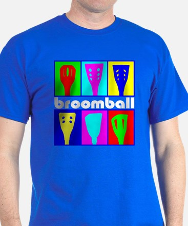 Broomball Heads T-Shirt