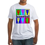 Broomball Heads Fitted T-Shirt