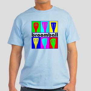 Broomball Heads Light T-Shirt