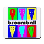 Broomball Heads Mousepad
