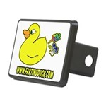 Farting Duck Rectangular Hitch Cover