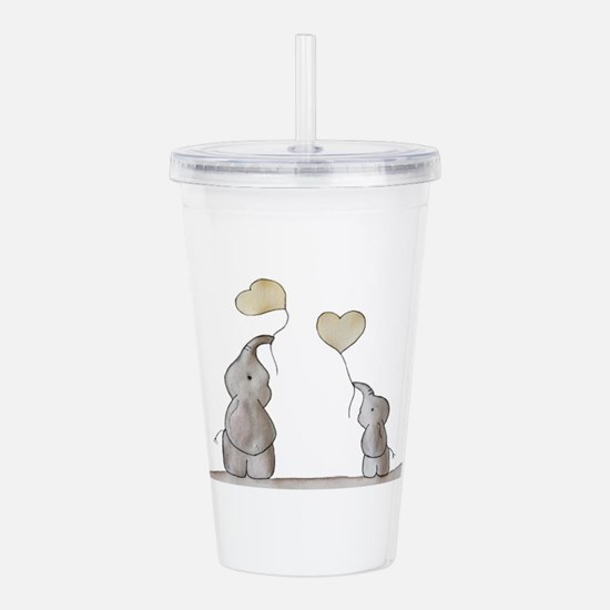 Forever Love Acrylic Double-wall Tumbler