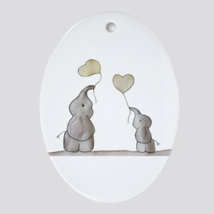 Forever Love Ornament (Oval)
