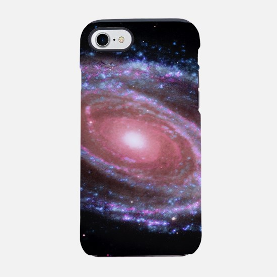 Pink Spiral Galaxy iPhone 7 Tough Case