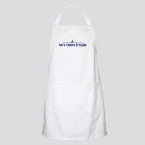 Here comes trouble BBQ Apron