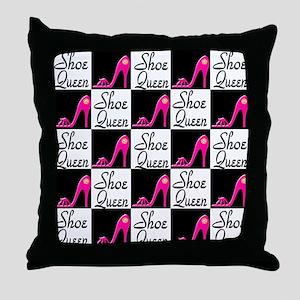 SHOE PRINCESS Throw Pillow