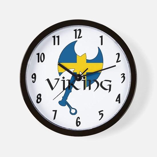 Swedish Viking Wall Clock