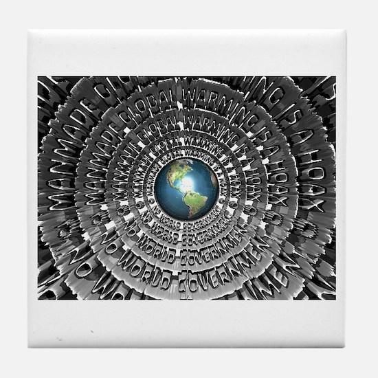 No World Government Tile Coaster