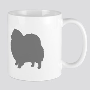 pomeranian gray 2 Mugs