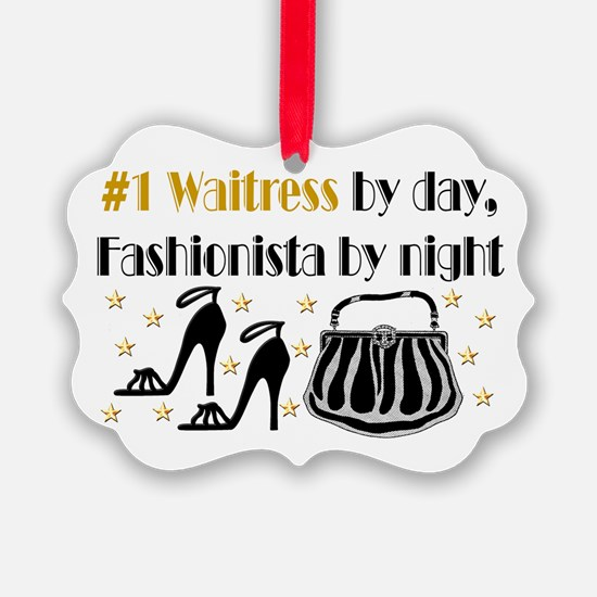 WAITRESS DIVA Ornament
