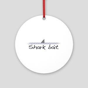 Shark Bait Ornament (Round)