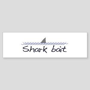 Shark Bait Bumper Sticker