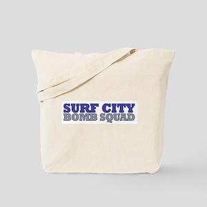 Surf City Bomb Squad Tote Bag
