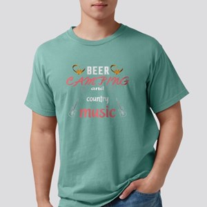 Beer Camping And Country Music T Shirt T-Shirt