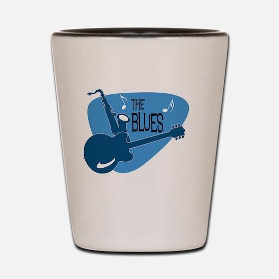 Cute Blues Shot Glass