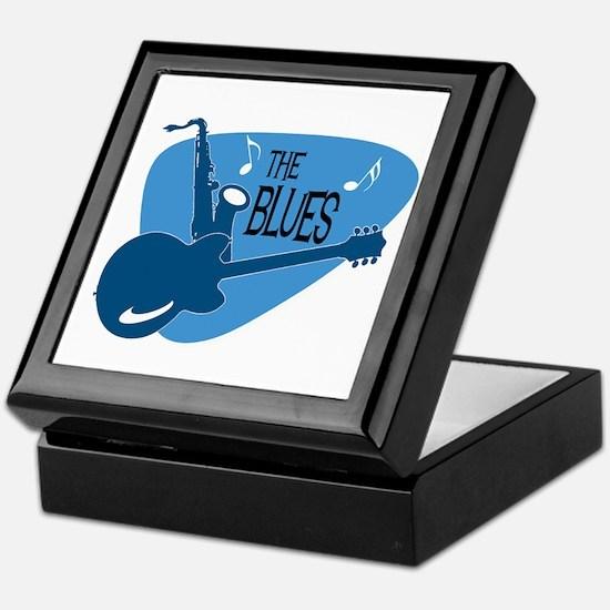 Cute Blues Keepsake Box