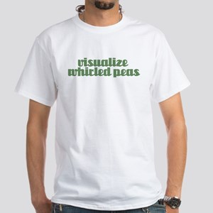 VISUALIZE PEAS White T-Shirt
