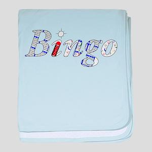 Bingo Light Mosh baby blanket