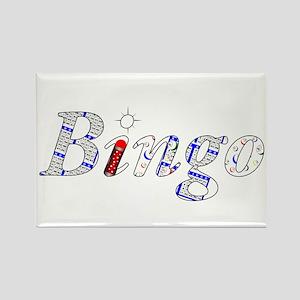 Bingo Light Mosh Magnets