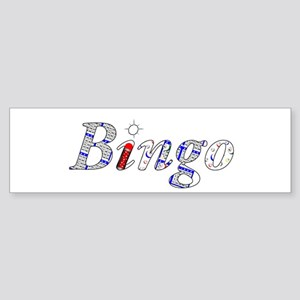 Bingo Light Mosh Bumper Sticker