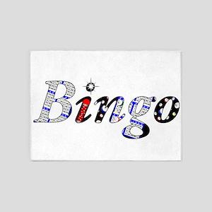Bingo Dark Mosh 5'x7'Area Rug