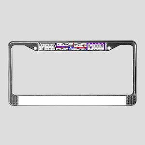 Bingo Anger License Plate Frame