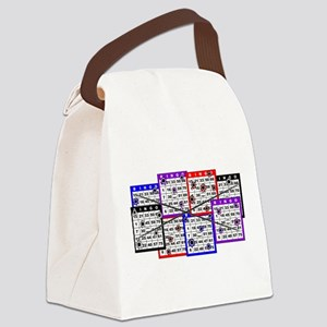 Bingo Anger Canvas Lunch Bag