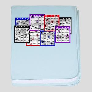 Bingo Anger baby blanket